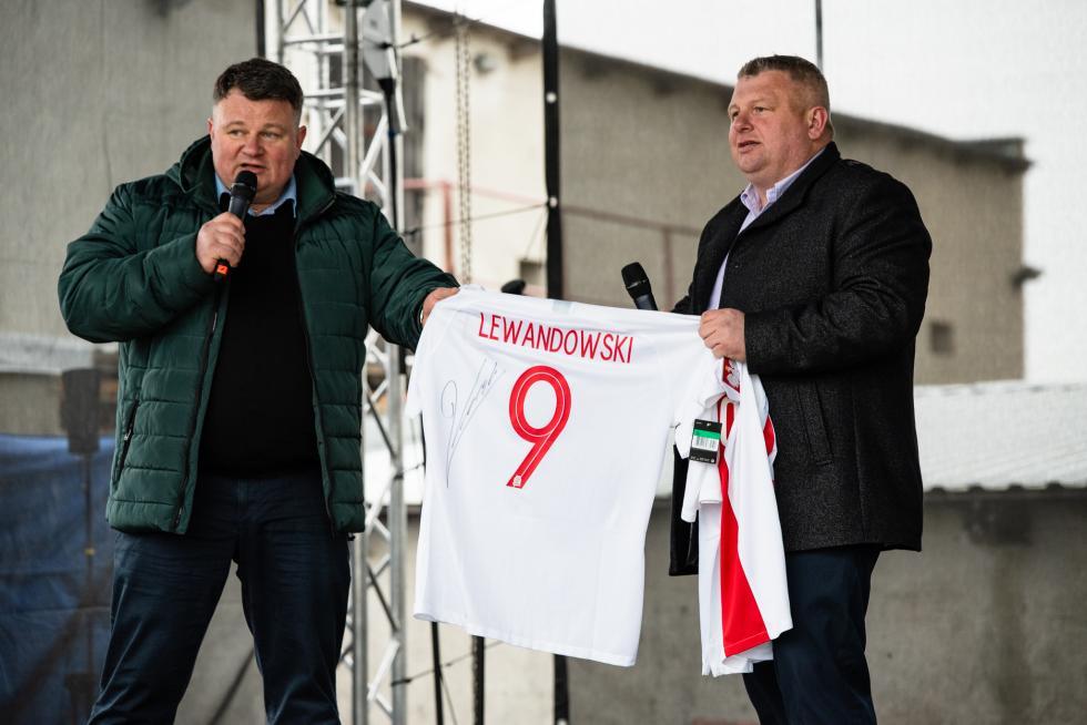Pustków Wilczkowski zagrał dla Mieczysława Tracza!