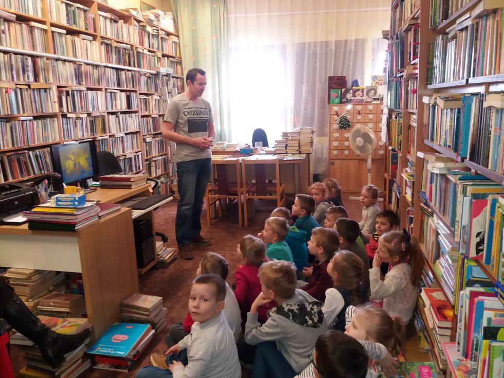 Odwiedziny przedszkolaków