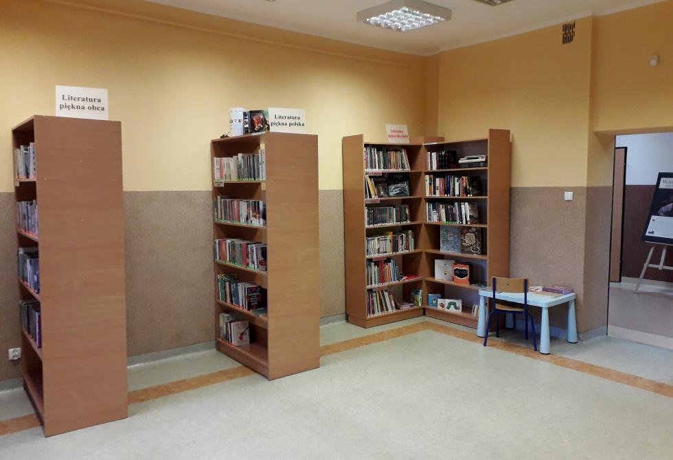 Punkt biblioteczny wDobrzykowicach już otwarty
