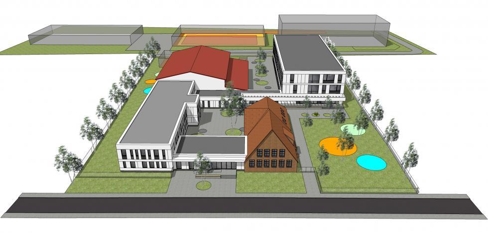 Tak ma wyglądać szkoła podstawowa wRadwanicach po rozbudowie