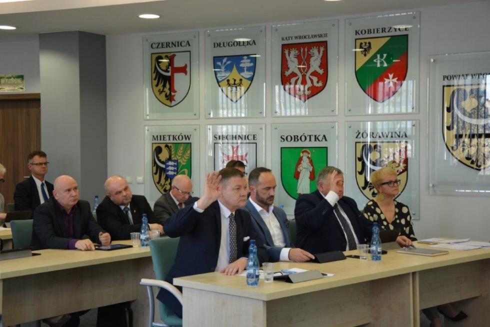V Sesja Rady Powiatu Wrocławskiego