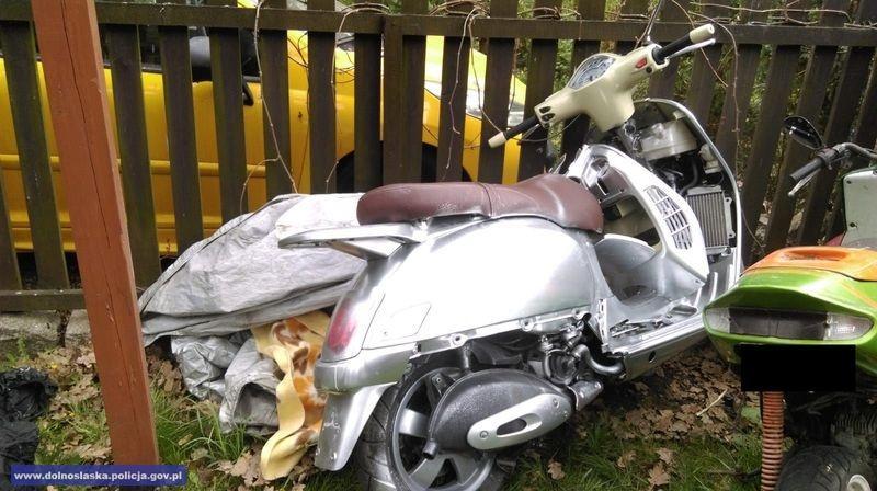 Kradli skutery