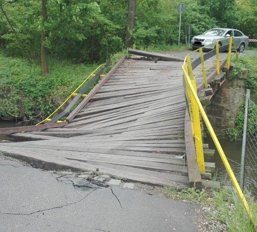Kto zniszczył most wBogdaszowicach?
