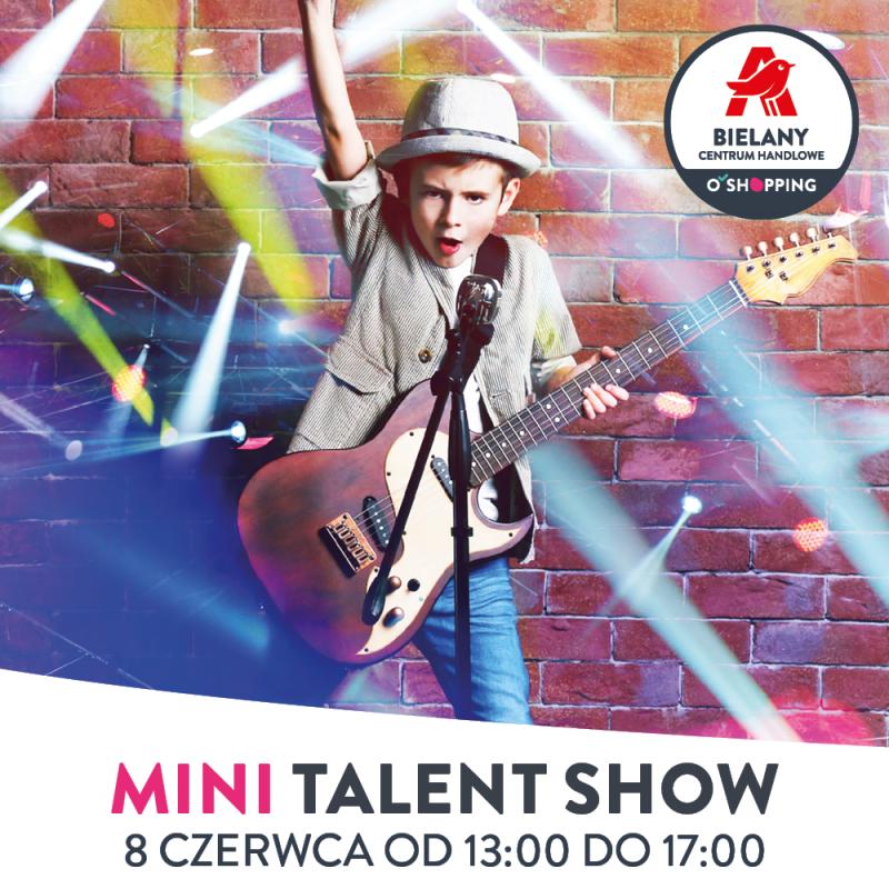 Mini talent show wCentrum Handlowym Auchan Bielany