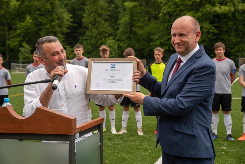 Kolejna inwestycja sportowa wGminie Kobierzyce