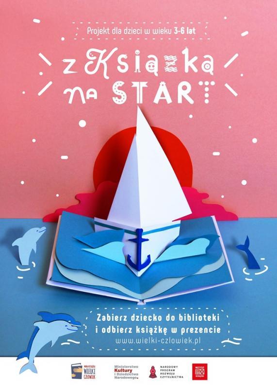 """Biblioteka wCzernicy  dołącza doprojektu """"Mała książka – wielki człowiek"""""""