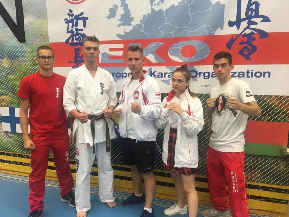 Marcel Kopij brązowym medalistą Mistrzostw Europy wKarate Shinkyokushin!