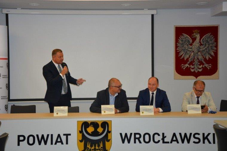 Konwent Powiatów zudziałem marszałka województwa dolnośląskiego
