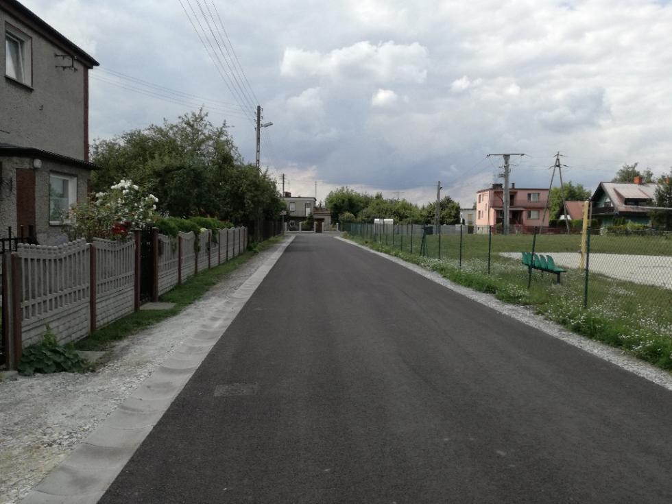 Ulica Jana Kochanowskiego wCzernicy przebudowana