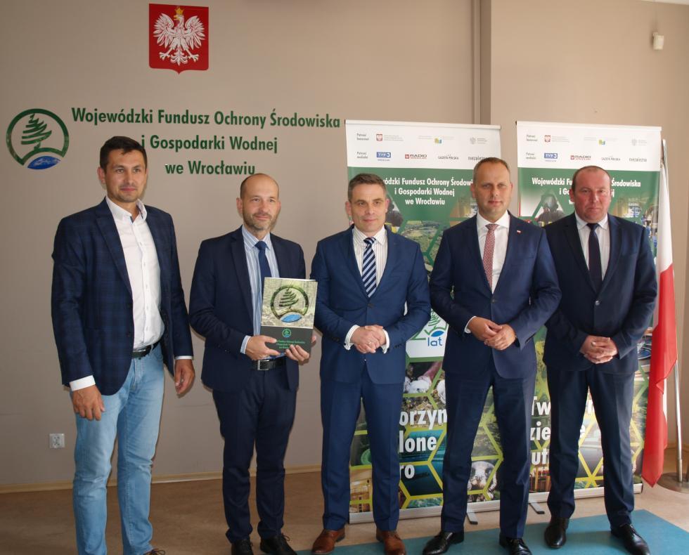 Czystsza woda dla mieszkańców gminy Długołęka