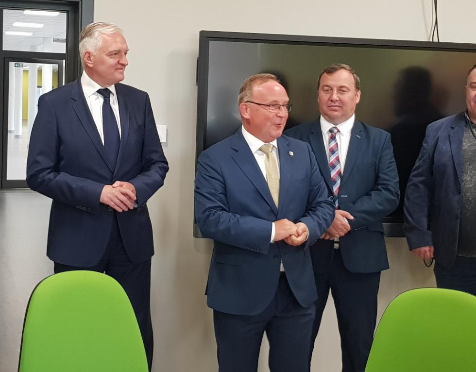 Wizyta wicepremiera Jarosława Gowina