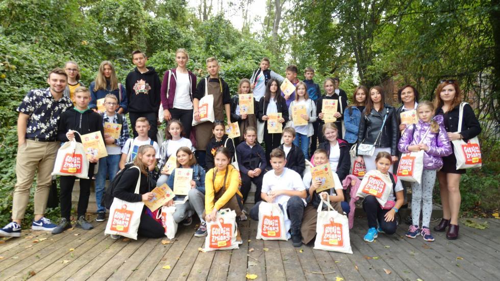 Uczniowie Szkoły Podstawowej wŻórawinie zwycięzcami wogólnopolskim konkursie