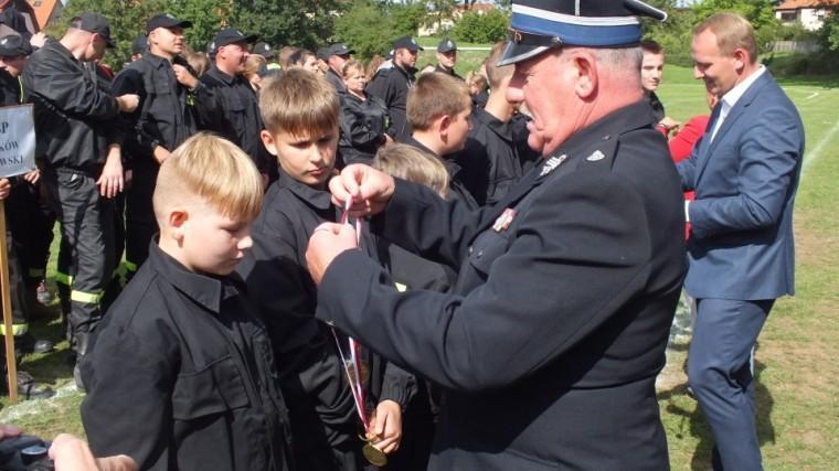 Najlepsi strażacy OSP powiatu wrocławskiego