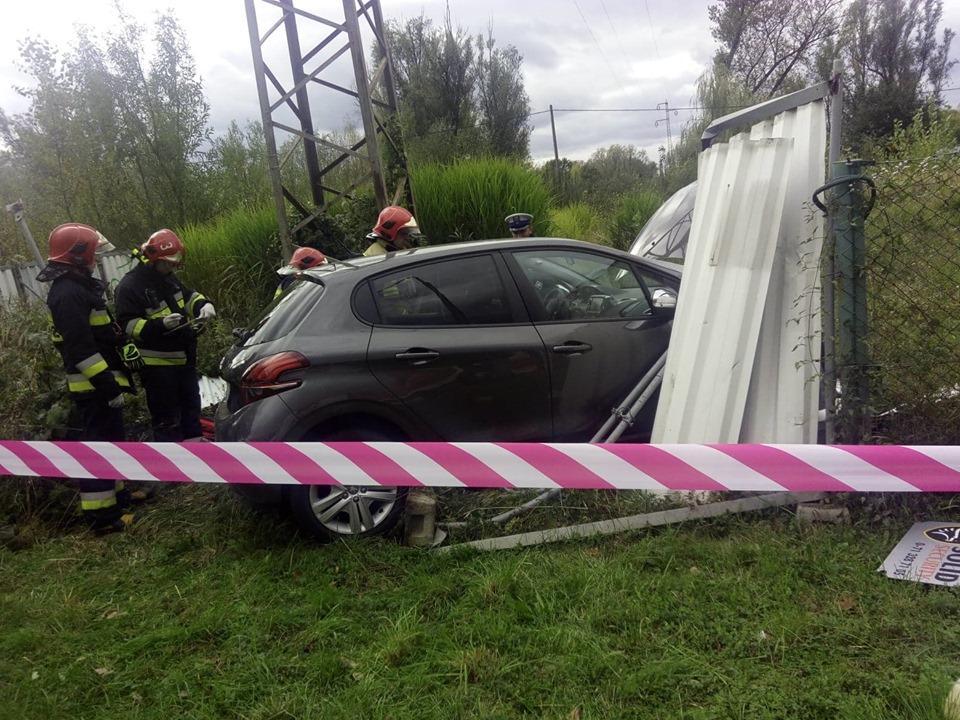 Strażak OSP Siechnice uratował życie kierowcy