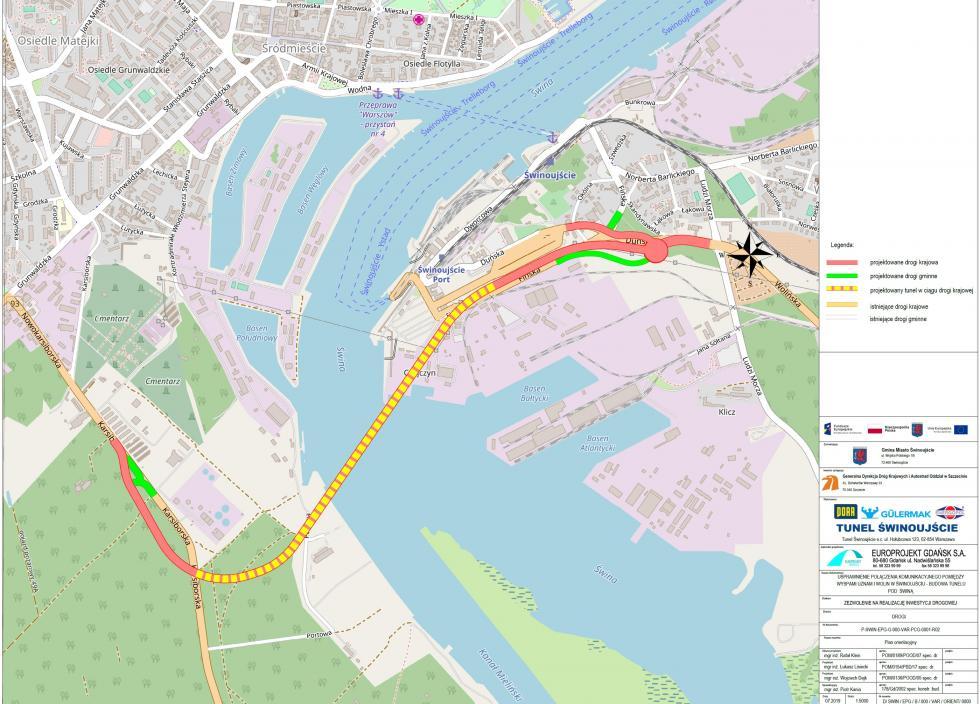 Połączy Świnoujście zresztą Polski. Plac budowy tunelu przekazany wykonawcy