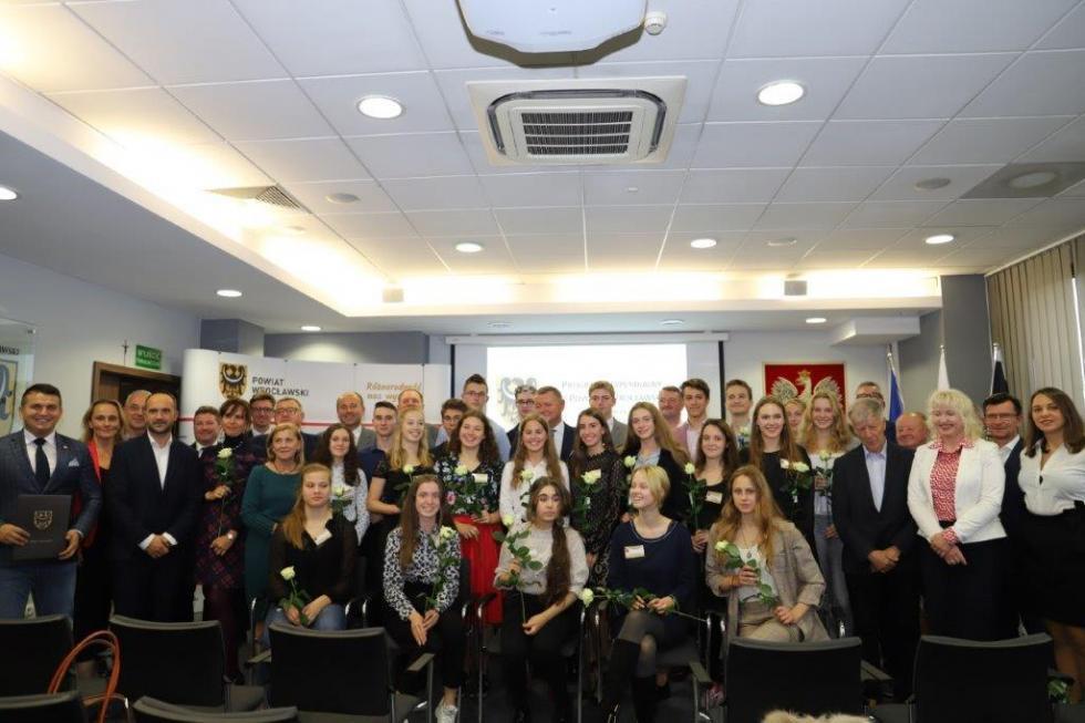 Stypendia XX edycji Programu Stypendialnego Rady Powiatu Wrocławskiego
