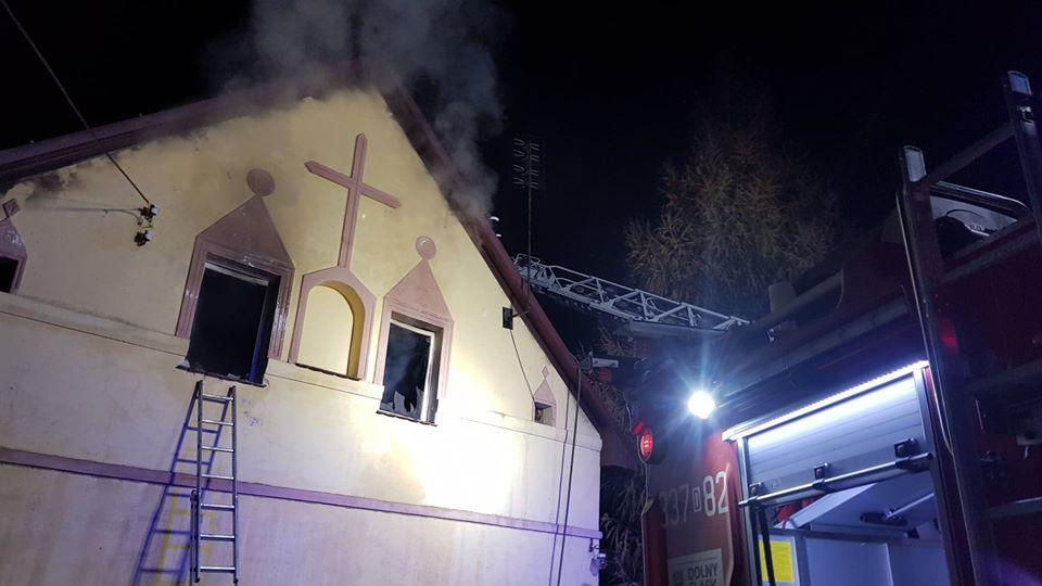 Tragiczny pożar wRacławicach Małych