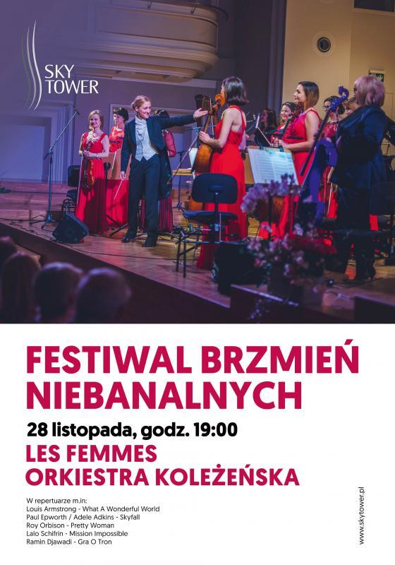 Orkiestra KoleŻeńska Les Femmes wSky Tower