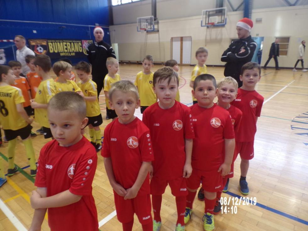 Mikołajkowy turniej piłki nożnej weWrocławiu