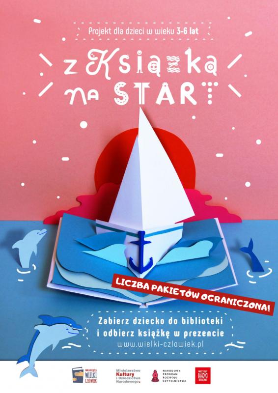 """Projekt """"Mała Książka – Wielki Człowiek"""" 2020 kontynuacja!"""