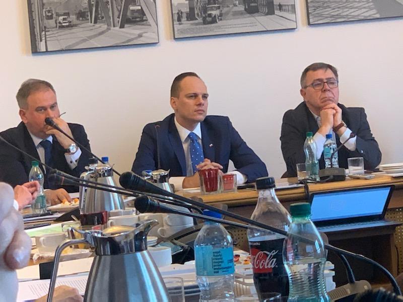 Pierwsze posiedzenie Zarządu Związku Powiatów Polskich