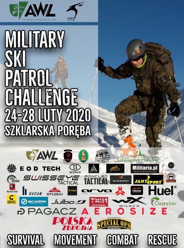 Military Ski Patrol 2020 – CHALLENGE