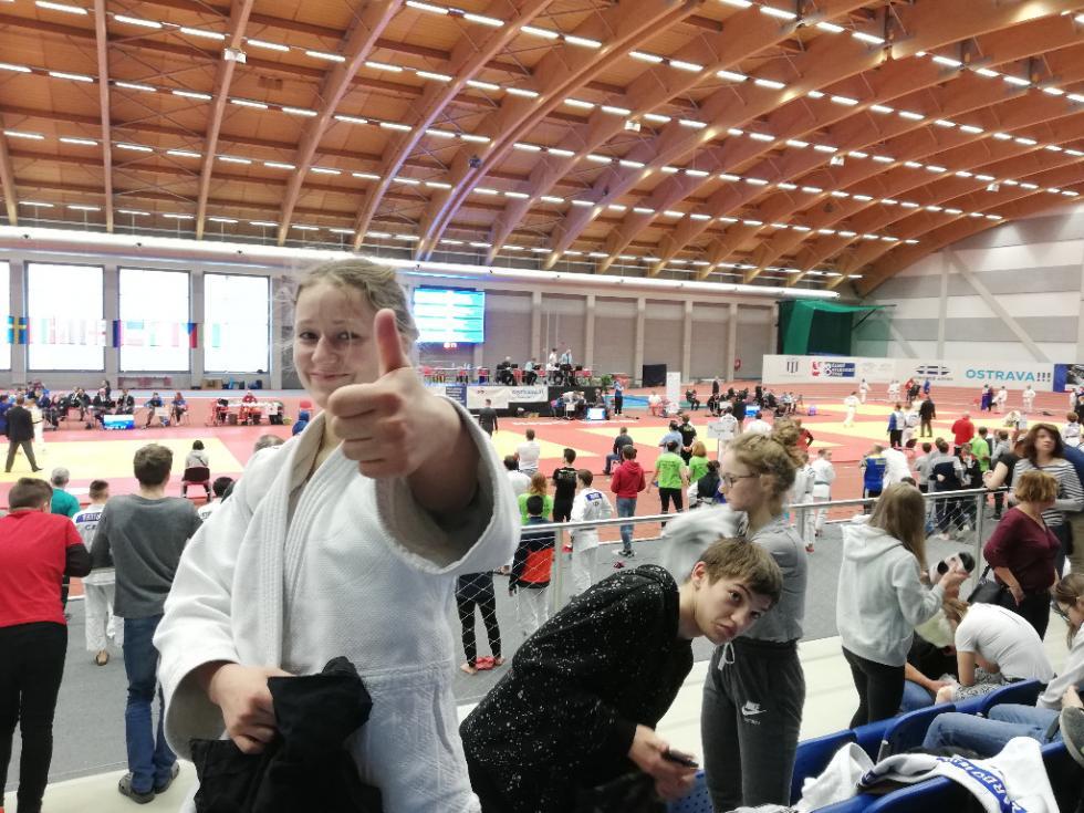 Kolejna medalistka znaszej gminy