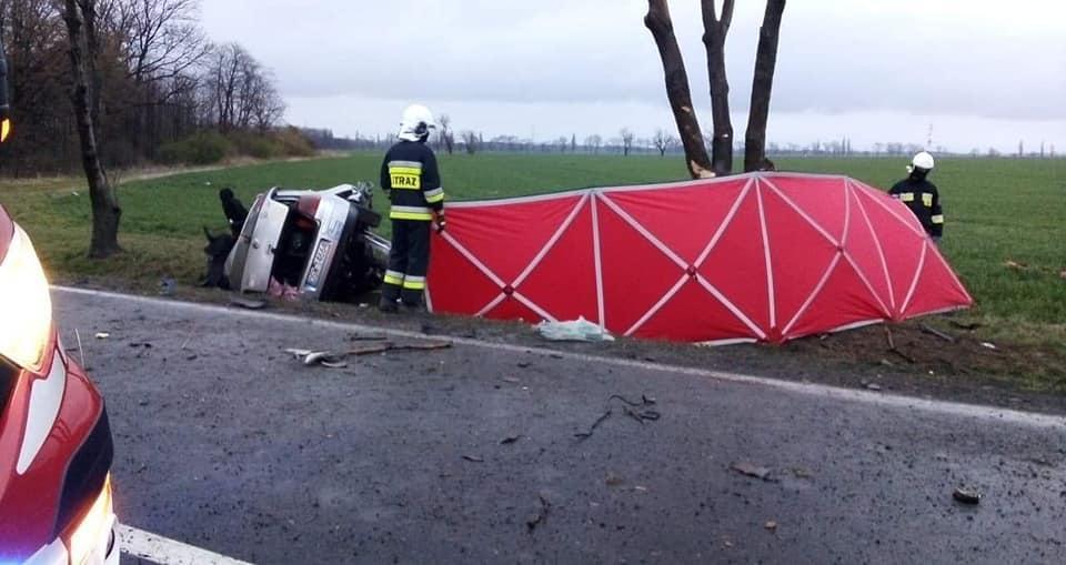Tragiczny wypadek na DK 35. Zginął młody mężczyzna
