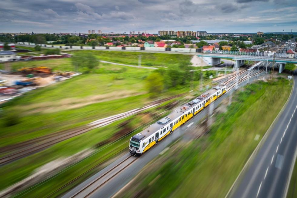 Więcej pociągów Kolei Dolnośląskich odczerwca - zobacz rozkłady