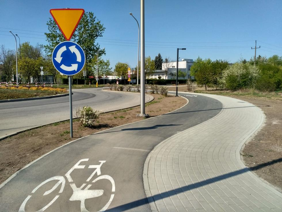 Nowa ścieżka rowerowa oddana doużytku