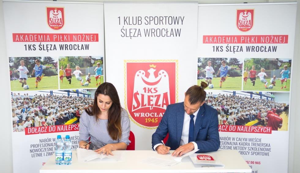 AP Oleśnica nowym klubem partnerskim Ślęzy Wrocław