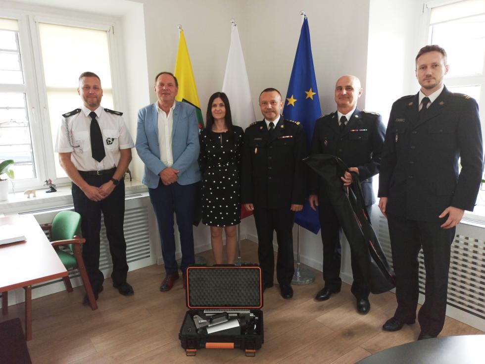 Zestaw oświetleniowy dla Jednostki Ratowniczo – Gaśniczej PSP wKątach Wrocławskich