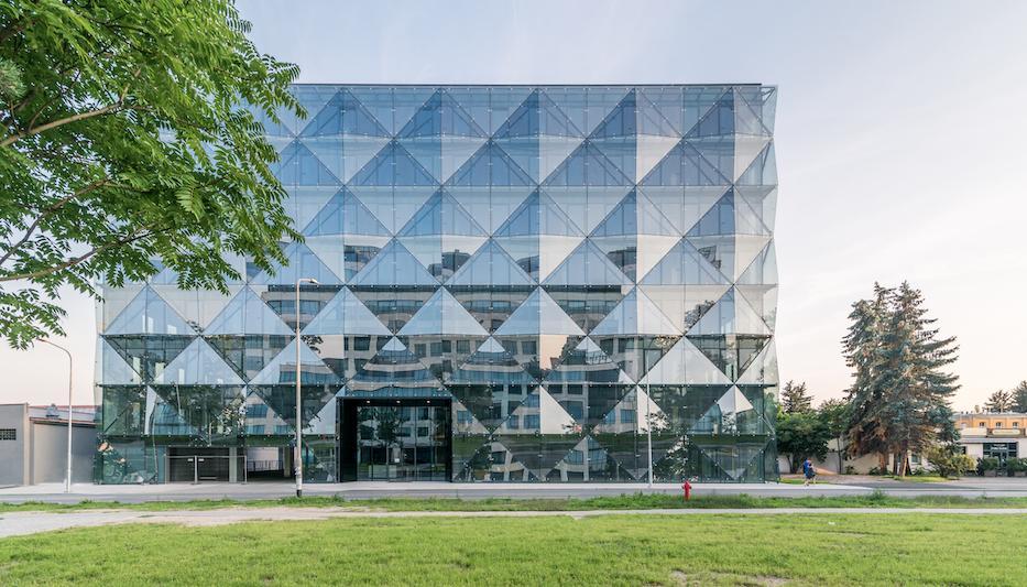 Diamentum Office – biurowy diament zaluminium iszkła