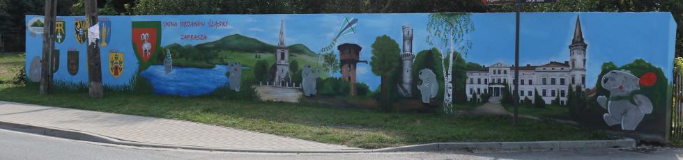 Mural oficjalnie zakończony