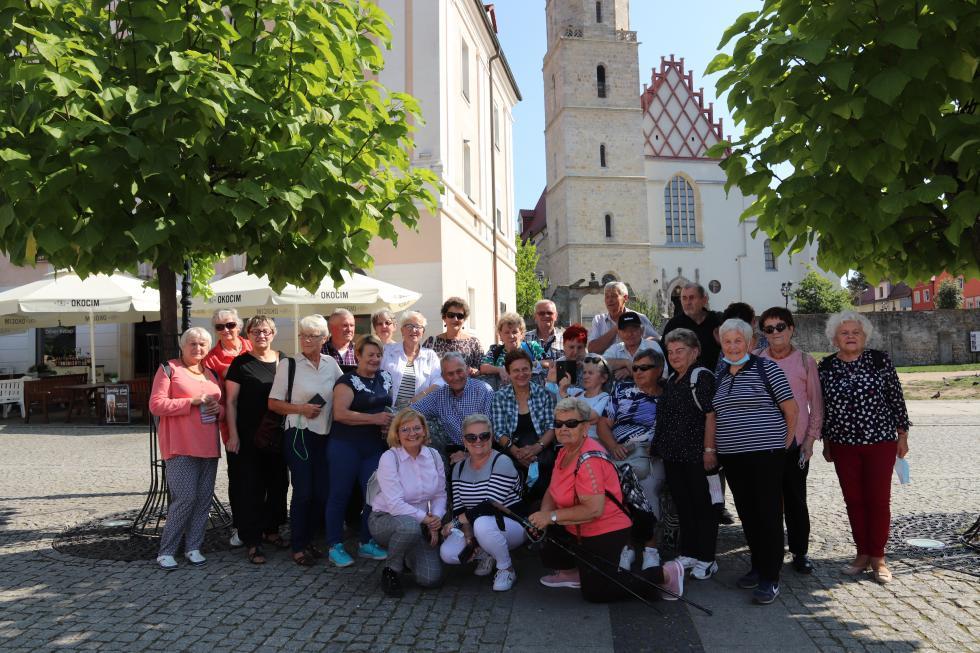 Wyjazd uczestników Powiatowego Klubu Seniora wKątach Wrocławskich doBolesławca