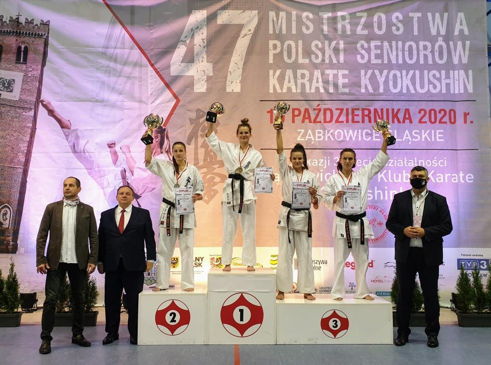 Sukces zawodniczki Siechnickiego Klubu Karate Kyokushin