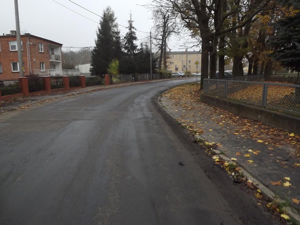Przebudowa drogi wKątach Wrocławskich
