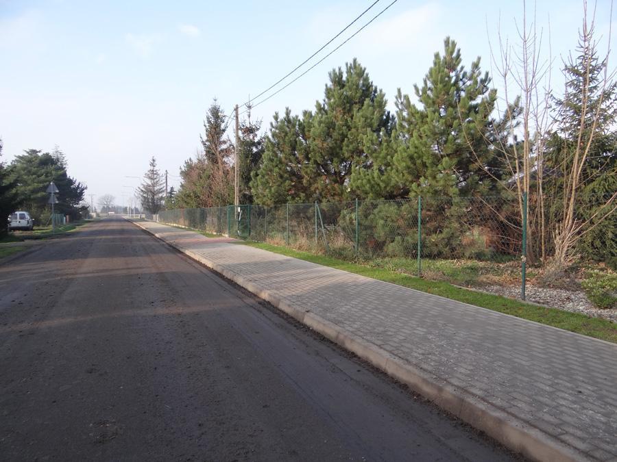 Ozorzyce: przy ul. Krasińskiego powstał nowy chodnik