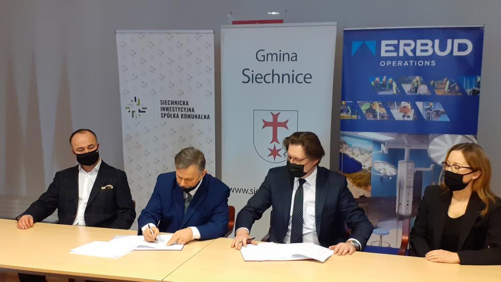 Nowy ośrodek zdrowia wSiechnicach - umowa zwykonawcą podpisana!