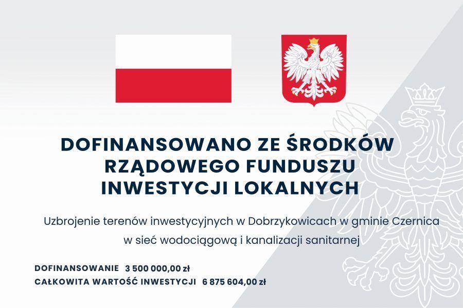 Kolejny etap uzbrajania terenów inwestycyjnych wDobrzykowicach