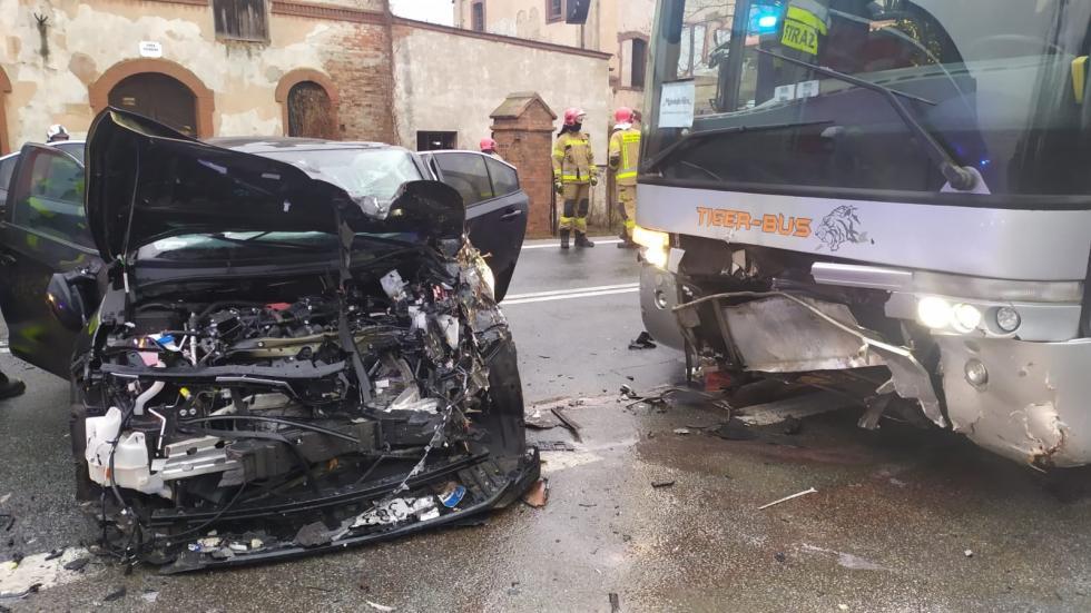Wypadek wRolantowicach