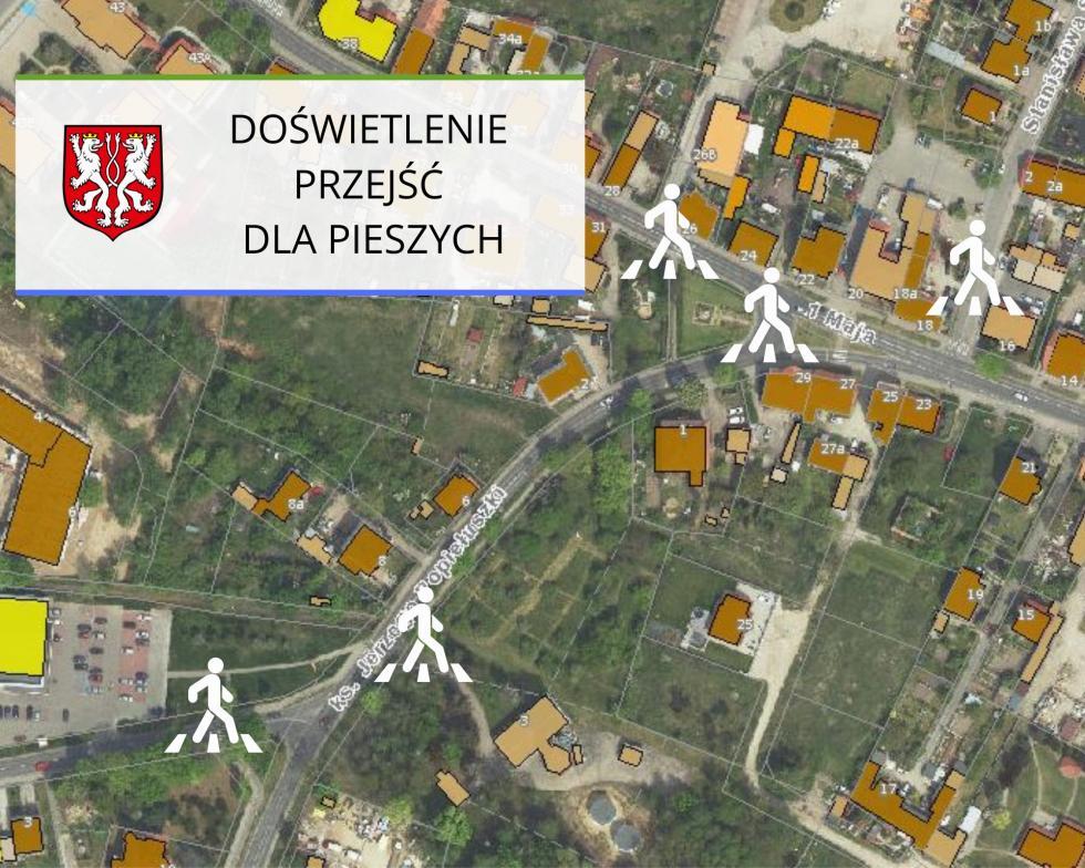 W Kątach Wrocławskich piesi będą bezpieczniejsi