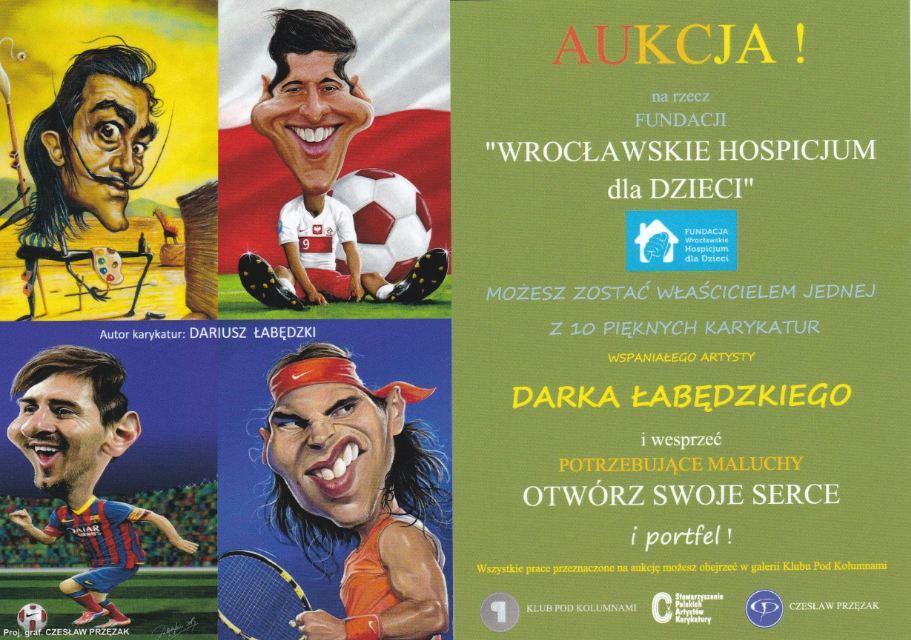 Wrocławski salon SPAK – wystawa rysunków satyrycznych. Uśmiechaj się i… pomagaj chorym dzieciom