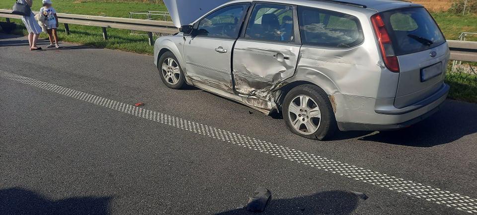 Zderzyło się pięć pojazdów