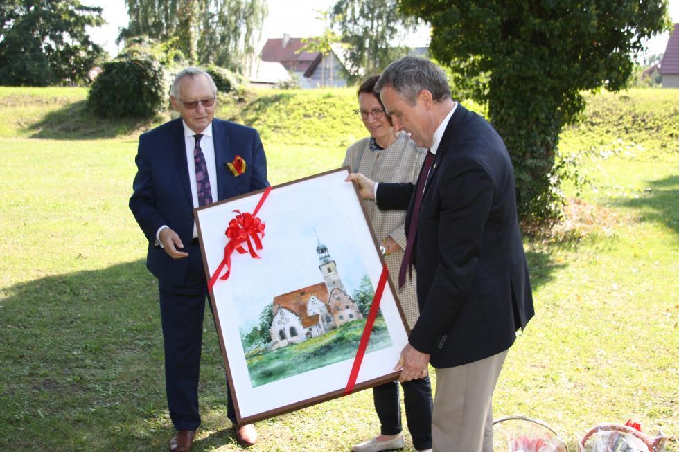 Wizyta Ambasadora Belgii wŻórawinie