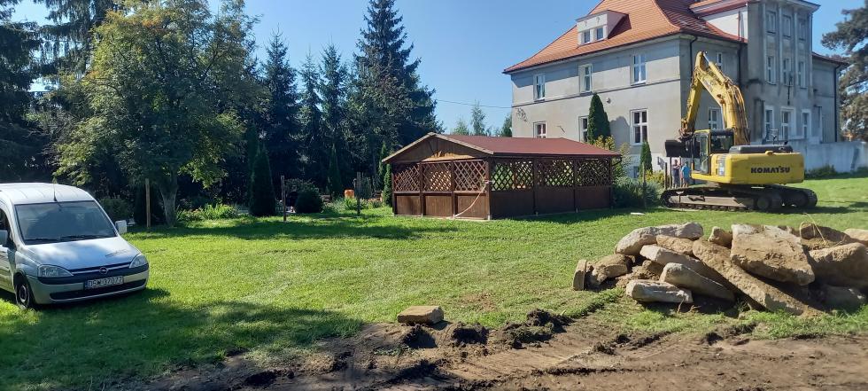 Budowa boisk wPolakowicach iWilczkowie